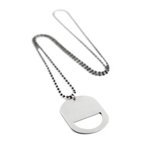 Other - Stainless Steel Bottle Opener Pendant